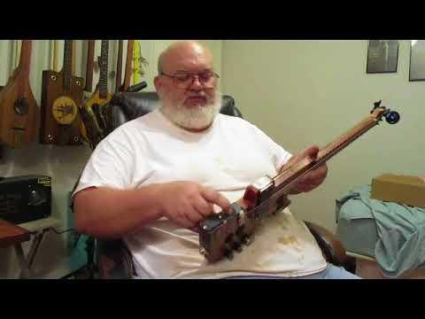 2.5w on-board Amp Backpacker Guitar