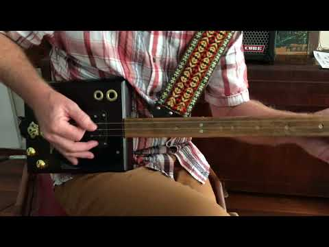 Nigel McTrustry- Easy- 3 String Slide Guitar