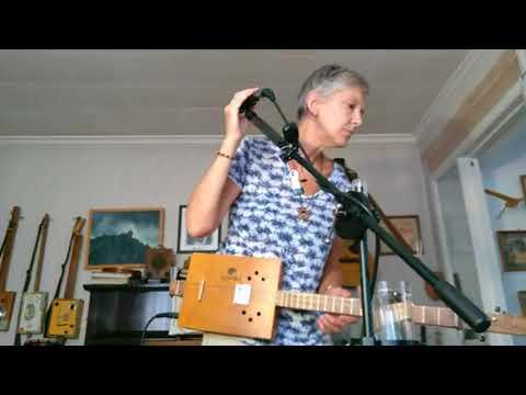 Facebook live - Indoor Busk - On Cigar Box Guitar, Canjo and Bedwarmer Guitar