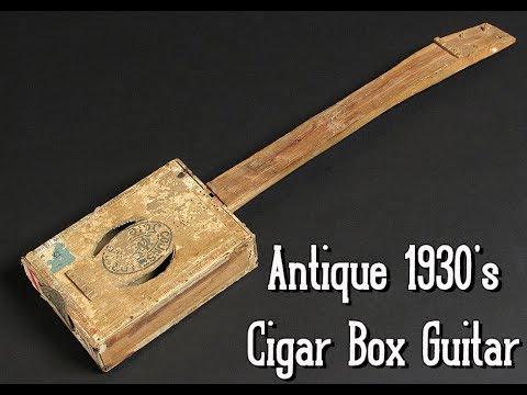 - 1930's Slide Blues Cigar Box Guitar Music -