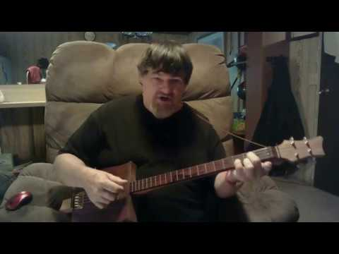 How to play a 4 string guitar in all major keys standard tuning