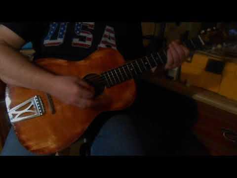 regal 200 parlor guitar