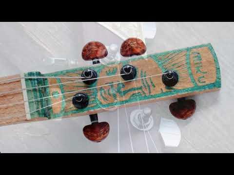 Miku cigar box guitar headstocks