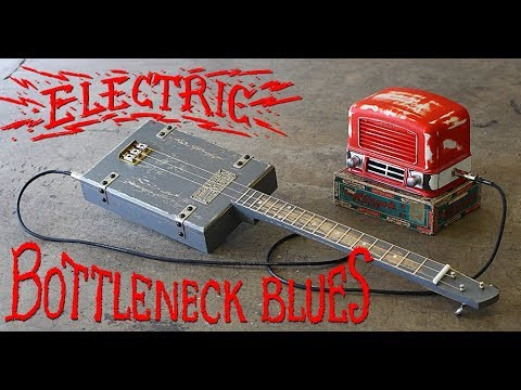 Battleship Blues - Electric Cigar Box Guitar
