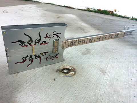 Swamp witch guitar  Helltainium for GD