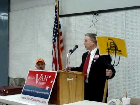 Van Irion 4 Congress(Glen Becks Look Alike)