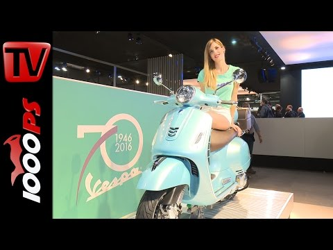 Vespa 70th Anniversary Edition 2016