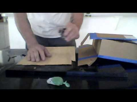 Utility knife [ Finger Blade]  New Invention, Box cutter
