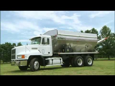 Adams Truck Tenders for Fertilizer Industry - Northern Equipment Solutions