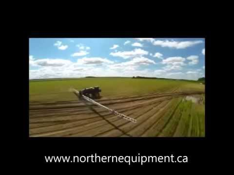 150 Foot Telescoping Boyd AG Aluminum Sprayer Boom