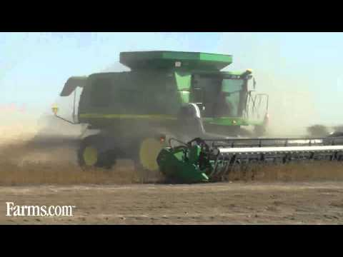 120 Combines Harvest Soybeans For Food Grains Bank: Harvest For Hunger
