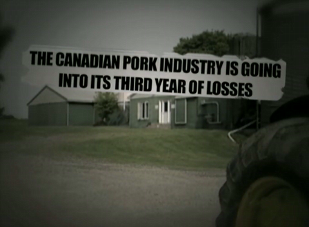 """You can make a difference"" ~ Pork Industry Commercial"