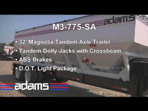 Adams Fertilizer Equipment M3-870-SA Fertilizer Tender