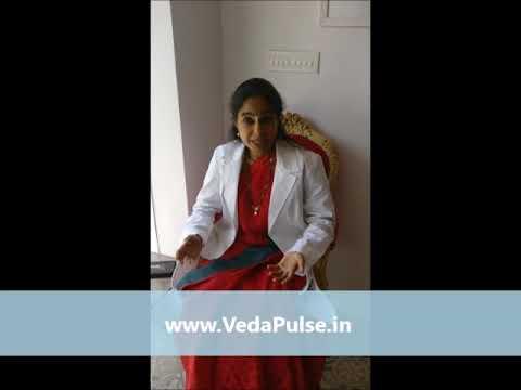 Dr Aruna Vishwanathan about VedaPulse Holistic Diagnosis Device