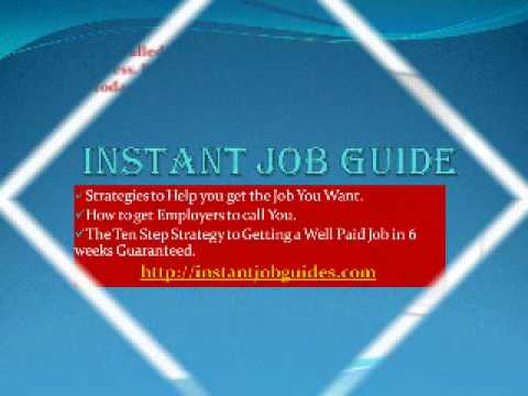 Instant Job Guide