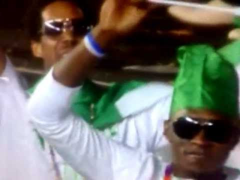 Nigerian in London 2012 Olympic Opening Ceremony