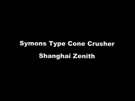 what is symons series cone crusher?