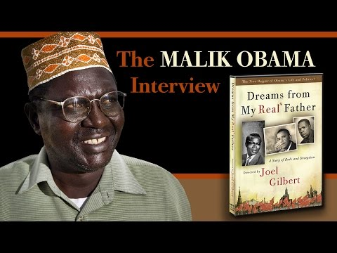 Malik Obama interviewed by Director Joel Gilbert (Dreams from My Real Father)