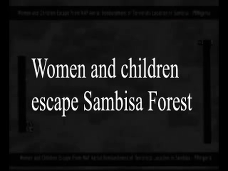 Sambisa women escape (1)