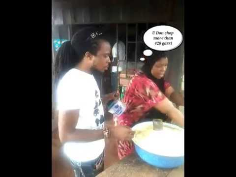 Hungry Man  by comedian Cele