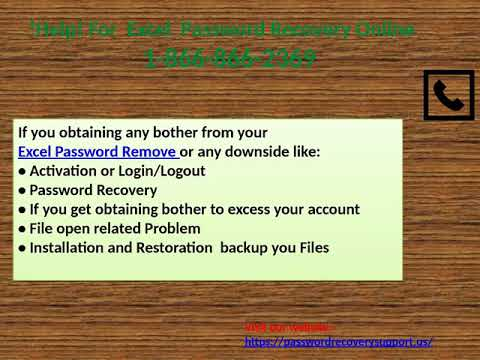 18668662369 Excel Password Recovery Online