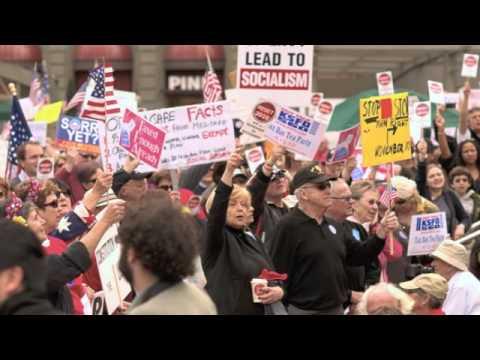 Democrat Leaves, Joins Tea Party