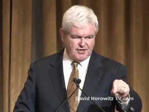 """Newt Gingrich: Impeach judges - Crush and Replace the Left - 2012 """"Victory or Death!"""" Pt.5"""