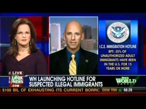 AZ Sheriff Babeu on Obama's new hotline for illegals