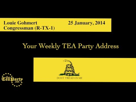 Obama is Lost on Foreign Policy: National Weekly Tea Party Address
