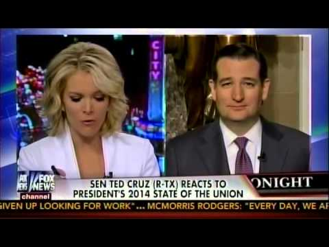 Sen. Ted Cruz with Megyn Kelly on the State of the Union