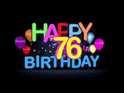 HAPPY 76 BIRTHDAY TO MY MOM LOVE YOU