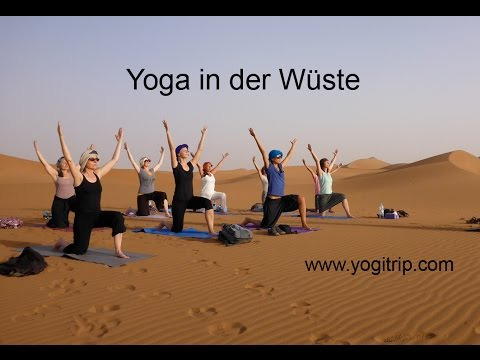 Yoga in der Wüste