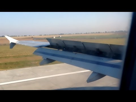 Czech Airlines (CSA) Airbus A320-214 OK-MEJ Landing at Ruzyne Prague Airport (PRG)