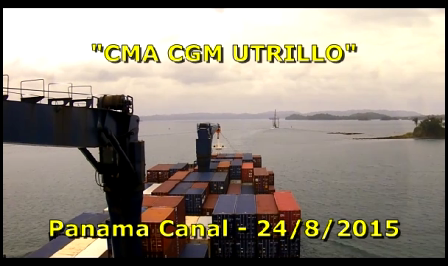 CMA CGM Utrillo - Panama Transit - Part 4