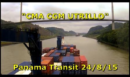 CMA CGM Utrillo - Panama Transit - Part 3