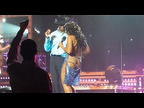Video:Mwanadada Toni Braxton alipoacha wazi ....... zake akiwa stejini