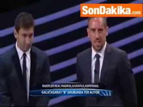 Video:Franck Ribéry alipotangazwa mchezaji bora wa UEFA 2013