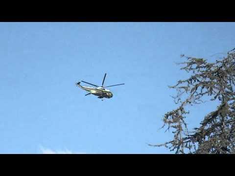 POTUS flying over Culver City