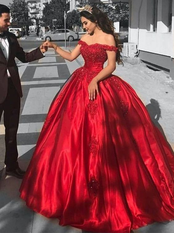 Gorgeous Ball Gown To Flaunt Your Beauty On Your Big Day Latest Fashion Looks