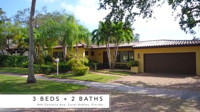 CASA RESPIRO: 440 Castania Ave, Coral Gables, FL