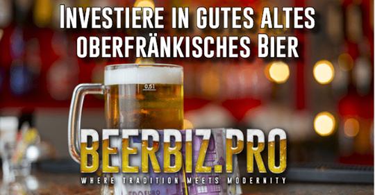 Investier in gutes Bier