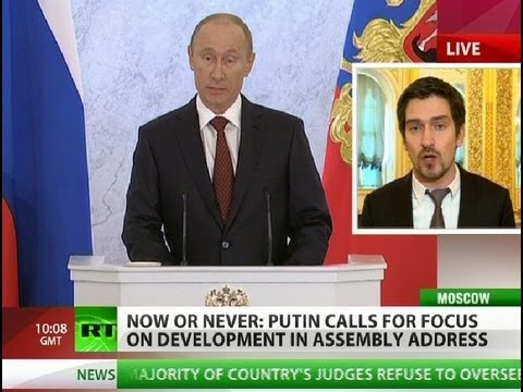 Now or Never: Putin on Russia's worries and concerns
