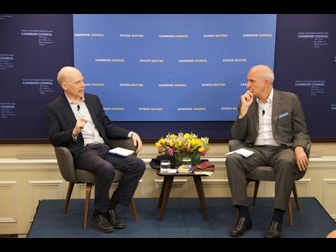 Global Ethics Forum: A Rage for Order with Robert Worth and Roger Cohen