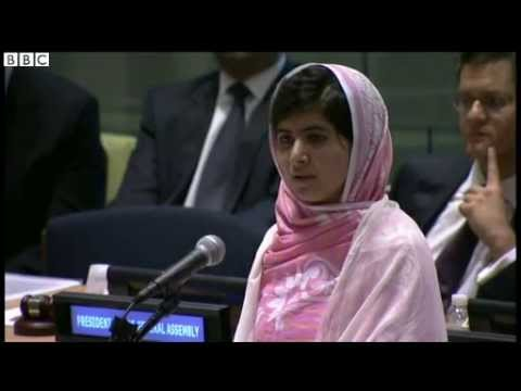 Malala Yousafzai UN speech in full