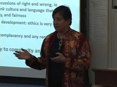 Journeys Towards a Global Ethic: Challenges for Poverty and Social Justice