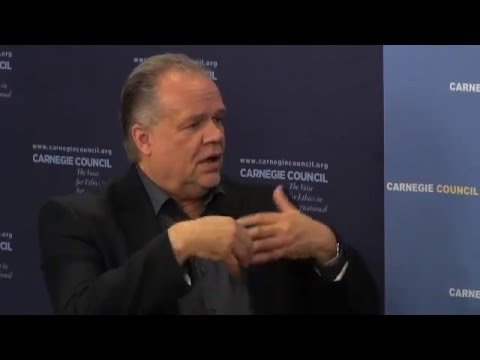 "Kilian Kleinschmidt: ""Desperate Migration"" & the Refugee Convention"