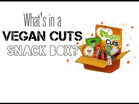 What's in a Vegan Cuts Snack Box? + Giveaway! (Stop Motion)
