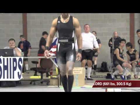 Dr. Nun Amen-Ra Sets World Record in Deadlift