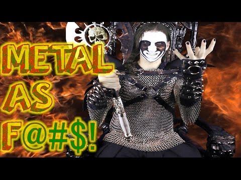 Veganism Is Metal As F@#$!   Vegan Black Metal Chef