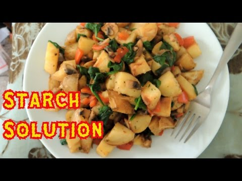 What I Eat Wednesdays! Starch Solution